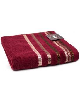 Bavlněný ručník Bianna 50x90 cm bordó