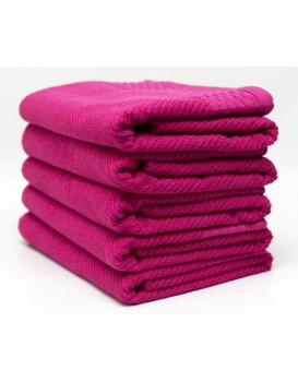 Bavlněný ručník Bolero 50x90 cm fuchsie