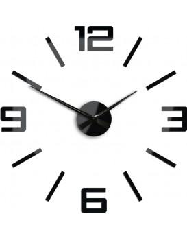 3D nalepovací hodiny Reden černé
