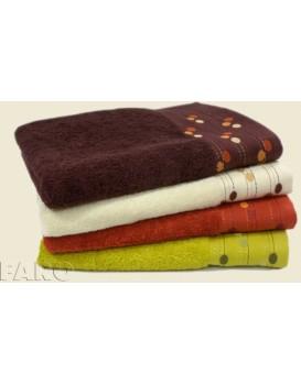 Bavlněný ručník Montana 50x90 cm hnědý