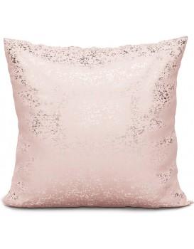Povlak na polštář Solo 002 - 40x40 cm růžový