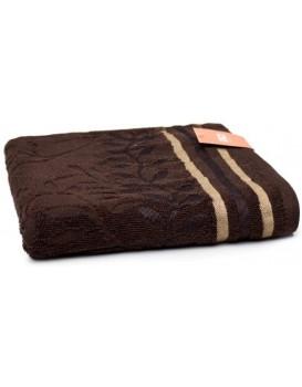 Bavlněný ručník Stella 50x90 cm hnědý
