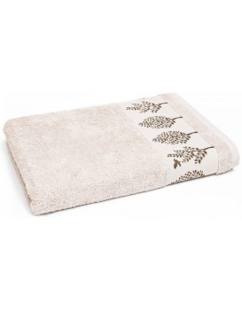 Bavlněný ručník Terra 50x90 cm béžový