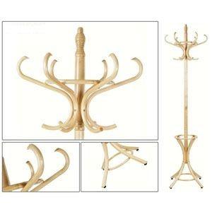 332e1db65042 Scandi Věšák na oblečení dřevěný - přírodní