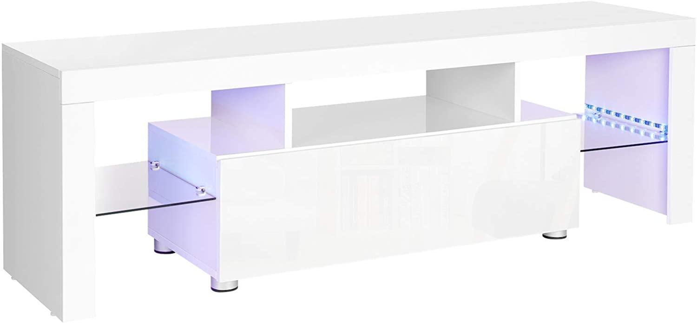 Rongomic TV stolek Lia bílý