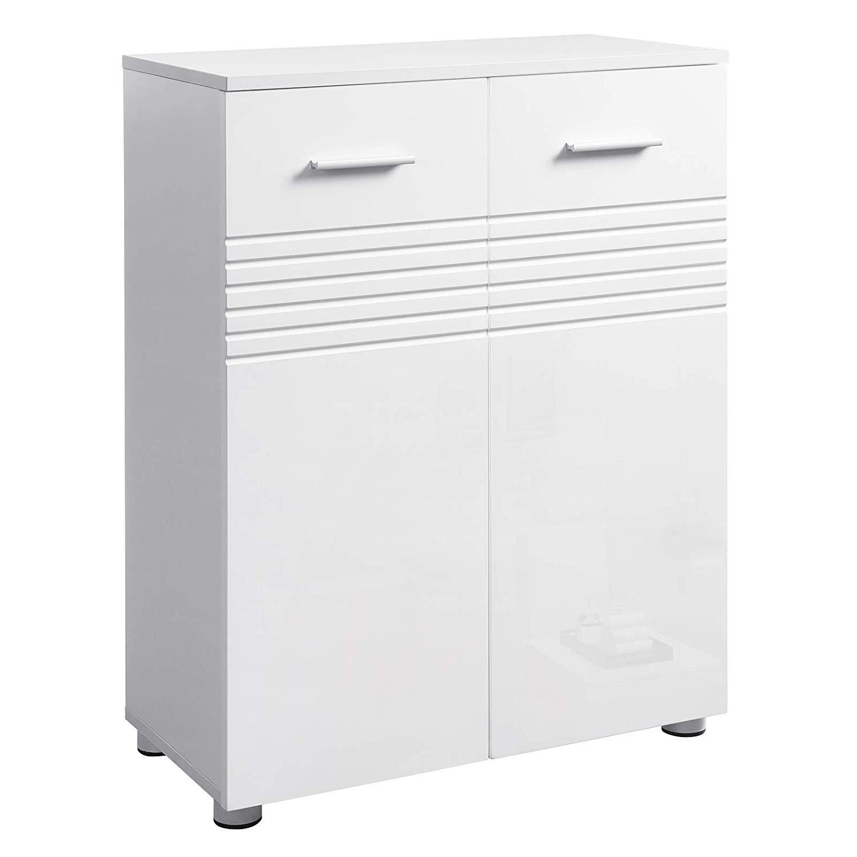 Rongomic Skříňka do koupelny VASAGLE GEORG bílá