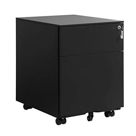 Rongomic Kancelářský kontejner SONG černý