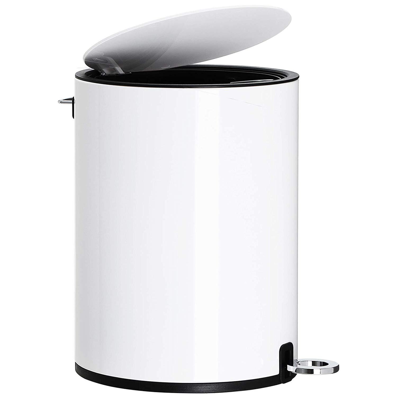 Rongomic Odpadkový koš s víkem CONNOR 3 L bílý