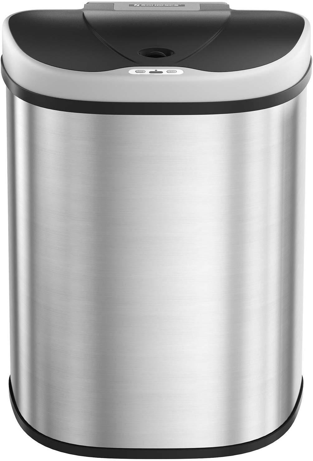 Rongomic Odpadkový koš 2x35 L LOLA stříbrný