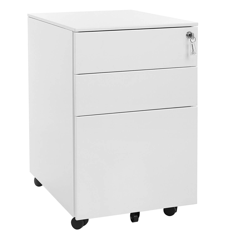 Rongomic Kancelářský kontejner NERO bílý