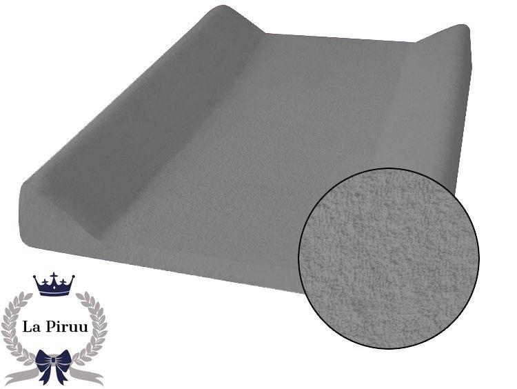 07dd410b2 Scandi Froté prostěradlo na přebalovací pult 70x50 cm světle šedé