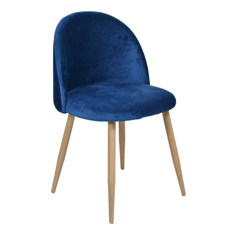 TZB Čalouněná židle Jazz - modrá