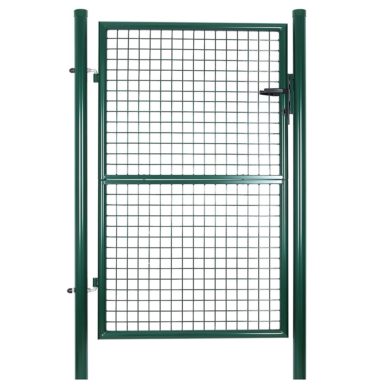 Rongomic Zahradní branka jednokřídlá 106x200 cm zelená