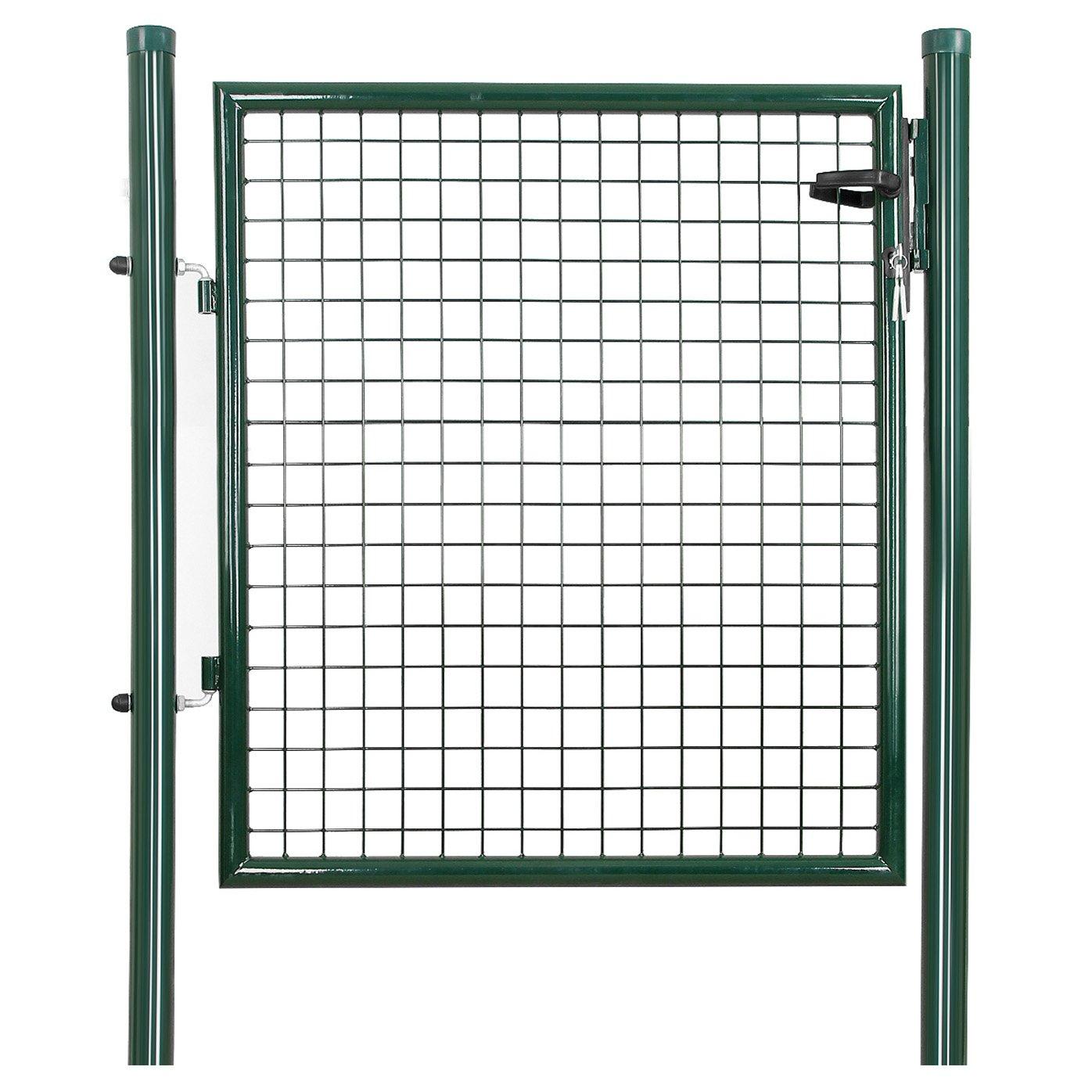 Rongomic Zahradní branka jednokřídlá 106x150 cm zelená