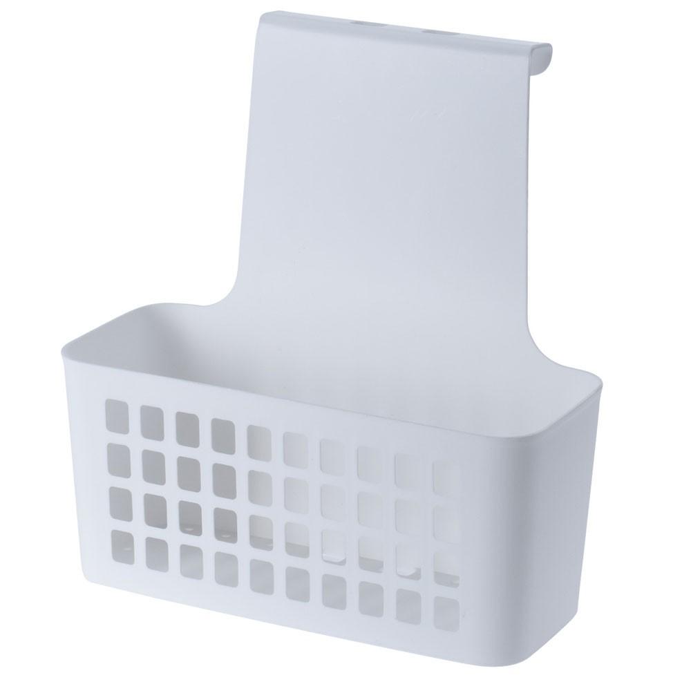DekorStyle Závěsný košík bílý