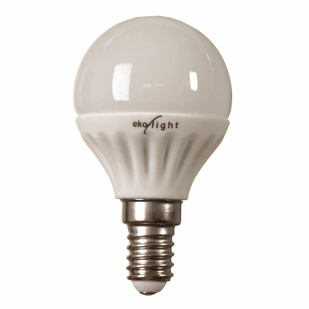 DekorStyle Žárovka LED 7W E14 G45- teplá