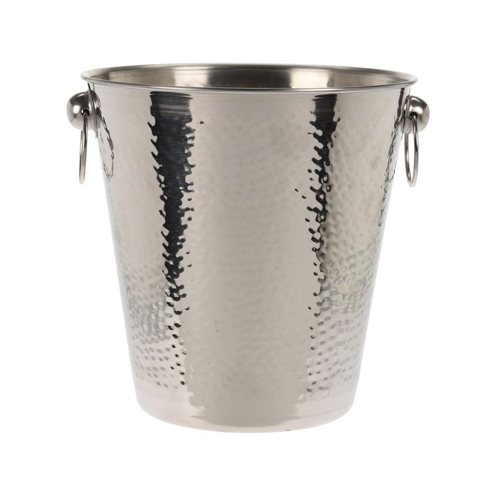 DekorStyle Chladič nápojů s držadly stříbrný