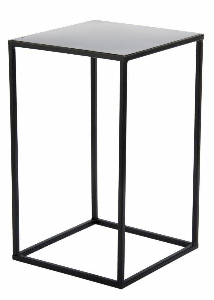 DekorStyle Květinový stojan Charr 40 cm černý