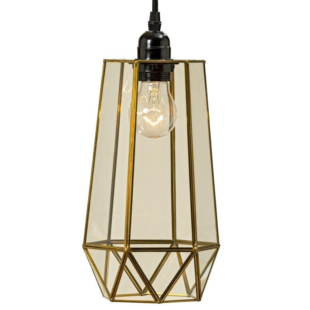 DekorStyle Stropní svítidlo Fondos 35 cm zlaté