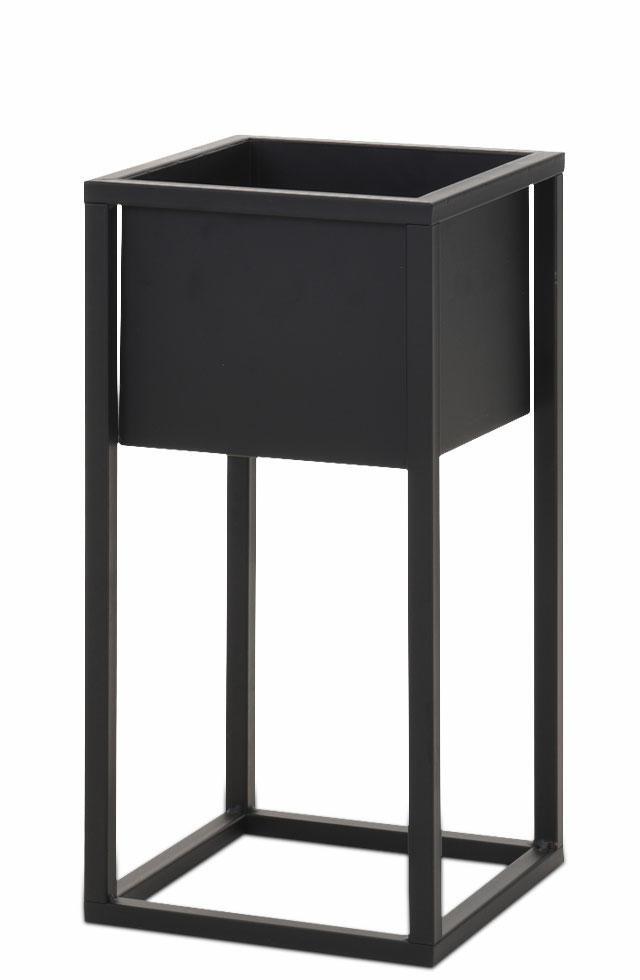 DekorStyle Květináč 60 cm černý