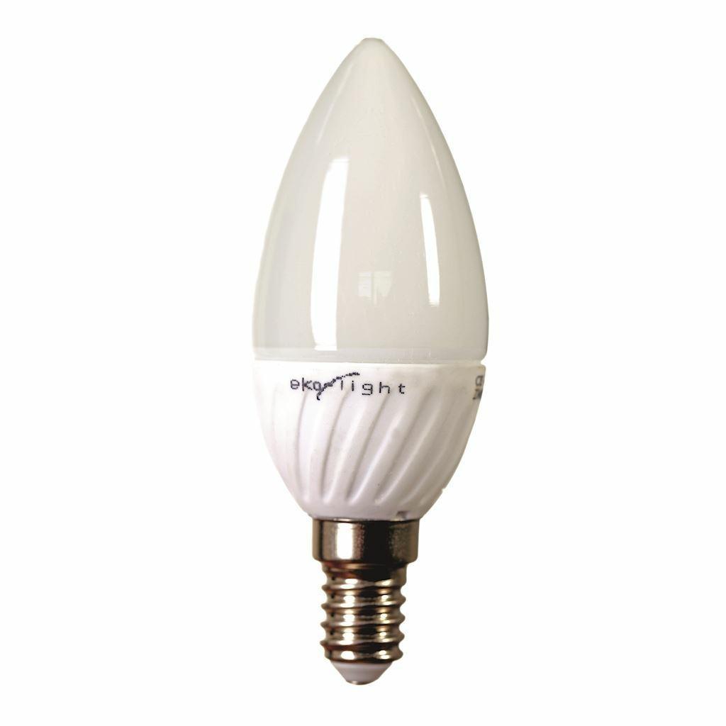 DekorStyle Žárovka LED 7W E14 - teplá- svíčka