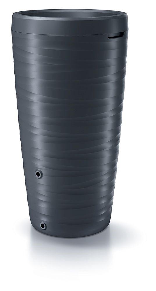 PlasticFuture Sud na dešťovou vodu TORNADO antracit 240l