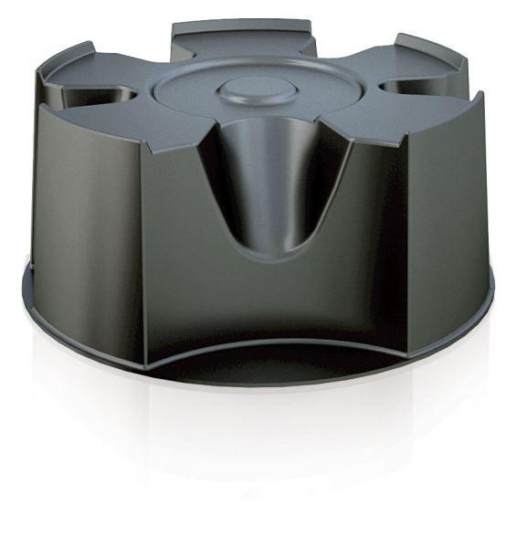 PlasticFuture Podstavec pod sud na dešťovou vodu BASEWAN černý