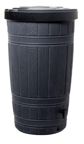 PlasticFuture Sud na dešťovou vodu WOODMAN černý 265l