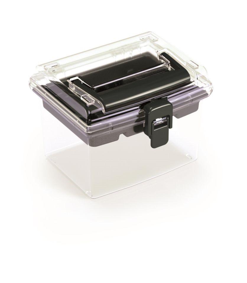 PlasticFuture Plastový organizér Georg 148x135x110 černý