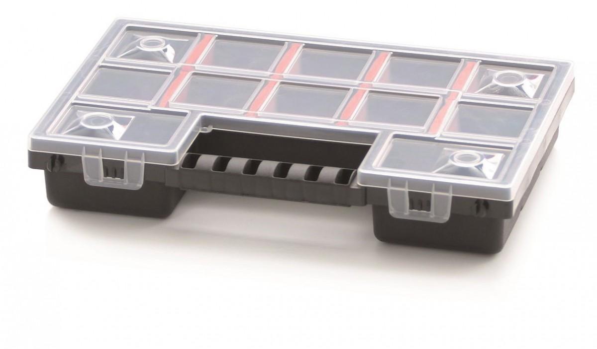 PlasticFuture Organizér na nářadí 12 přihrádek Scalo 287x186x50