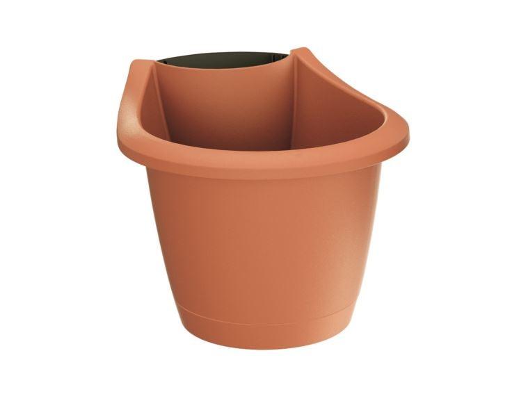 PlasticFuture Květináč Respana Spout oranžový