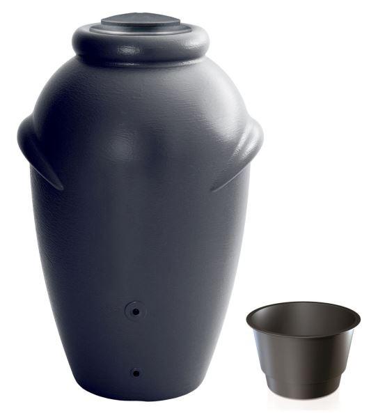 PlasticFuture Sud na dešťovou vodu TUCAN antracit 360l