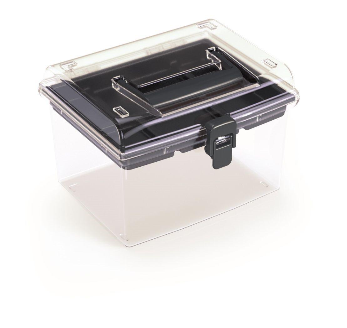 PlasticFuture Plastový organizér Georg 195x174x135 černý