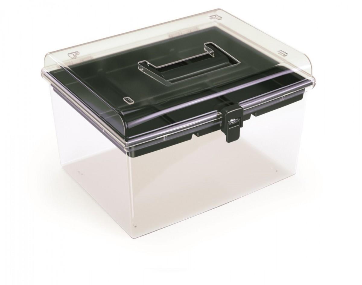 PlasticFuture Plastový organizér Georg 292x250x185 černý