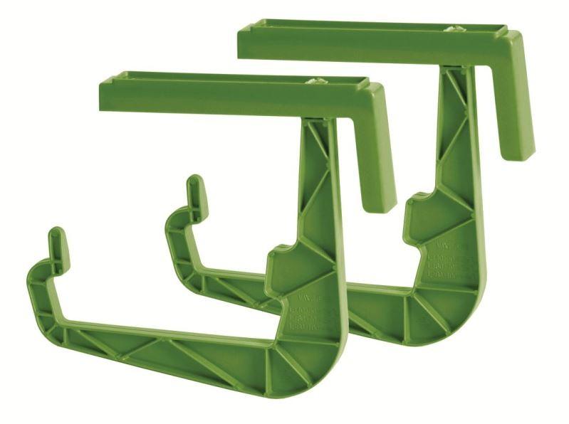 PlasticFuture Držák na truhlíky JANGPLAST olivka 20cm