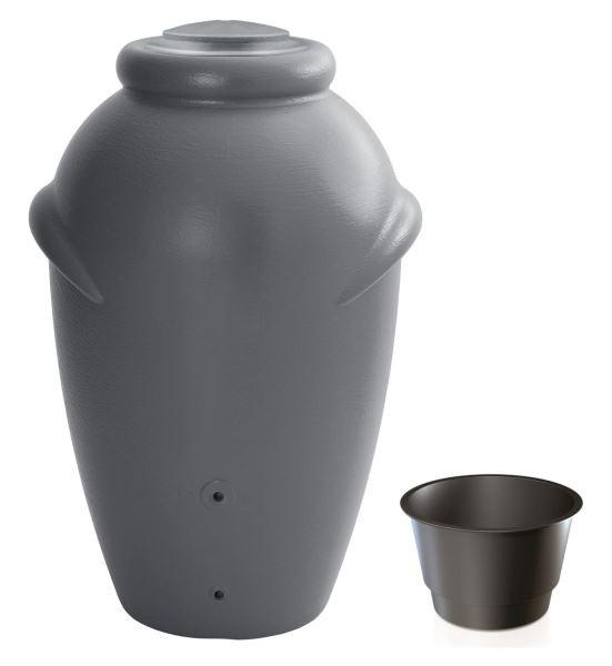 PlasticFuture Sud na dešťovou vodu TUCAN šedý 360l