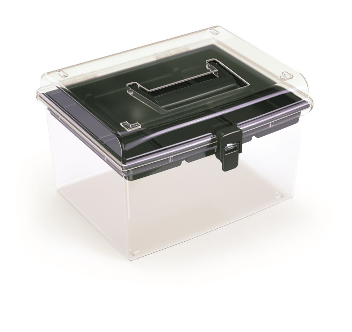 PlasticFuture Plastový organizér Georg 245x214x158 černý