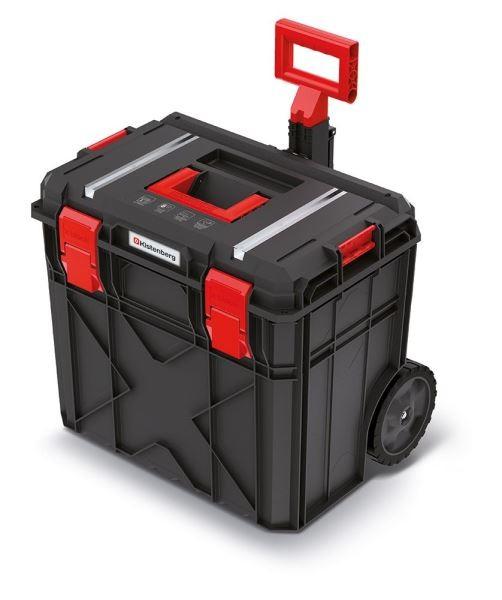 PlasticFuture Kufr na nářadí X-BLOCK TECH II 54,6x38x51 cm černo-červený
