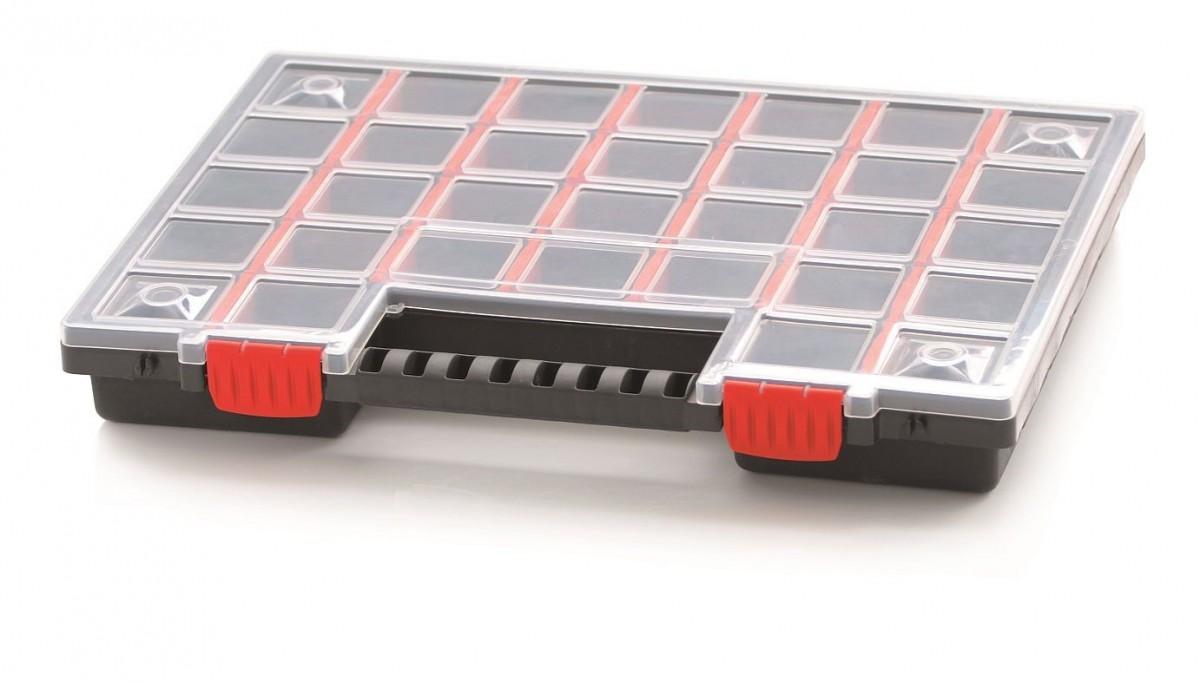 PlasticFuture Organizér na nářadí 32 přihrádek Scalo 399x303x50