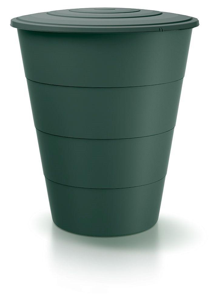 PlasticFuture Sud na dešťovou vodu SMUDT tmavě zelený 210l