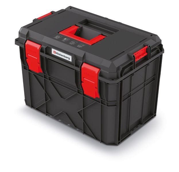 PlasticFuture Kufr na nářadí X-BLOCK PRO 54,6x38x40,7 cm černo-červený