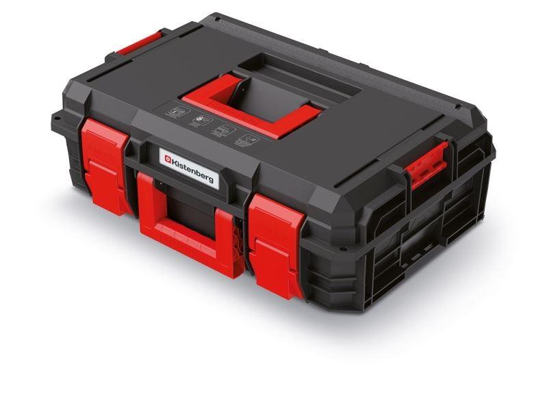 PlasticFuture Kufr na nářadí X-BLOCK PRO 54,6x38x19,4 cm černo-červený