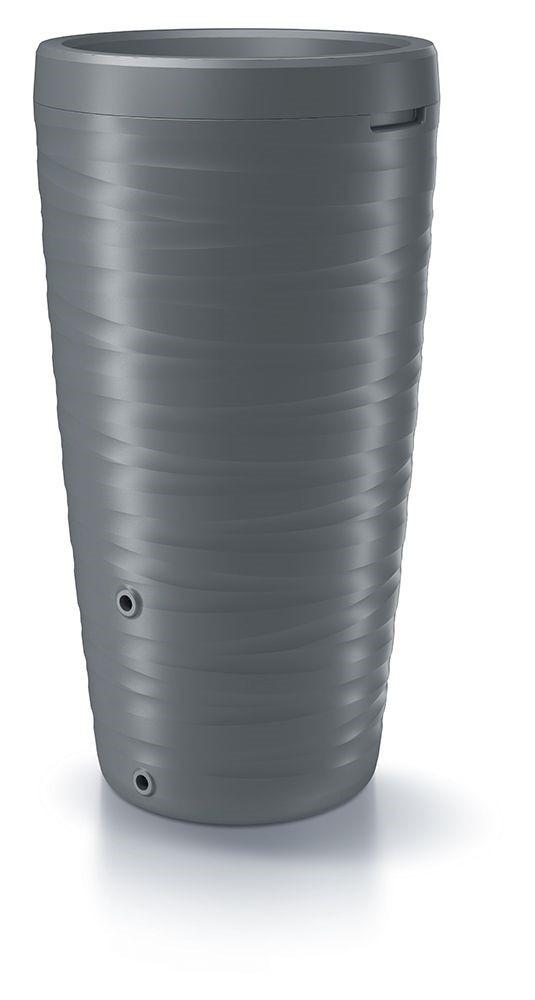 PlasticFuture Sud na dešťovou vodu TORNADO šedý 240l