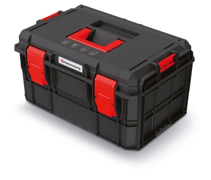 PlasticFuture Kufr na nářadí X-BLOCK PRO 54,6x38x30,7 cm černo-červený