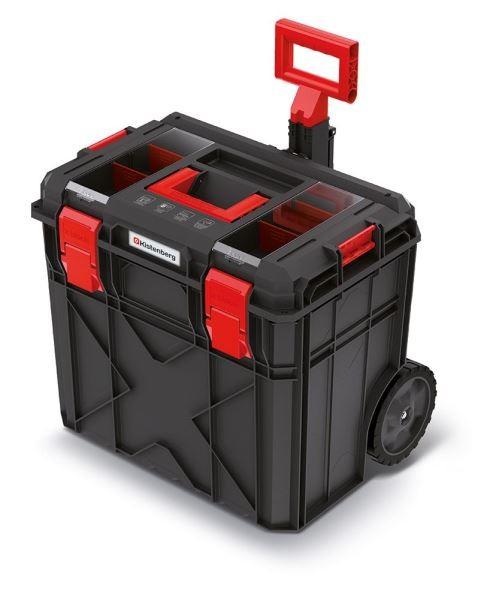 PlasticFuture Kufr na nářadí X-BLOCK LOG II 54,6x38x51 cm černo-červený