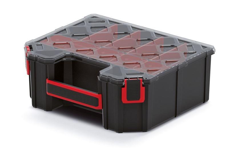 PlasticFuture Organizér vysoký Target s polykarbonát. víkem (přihrádky/krabičky)