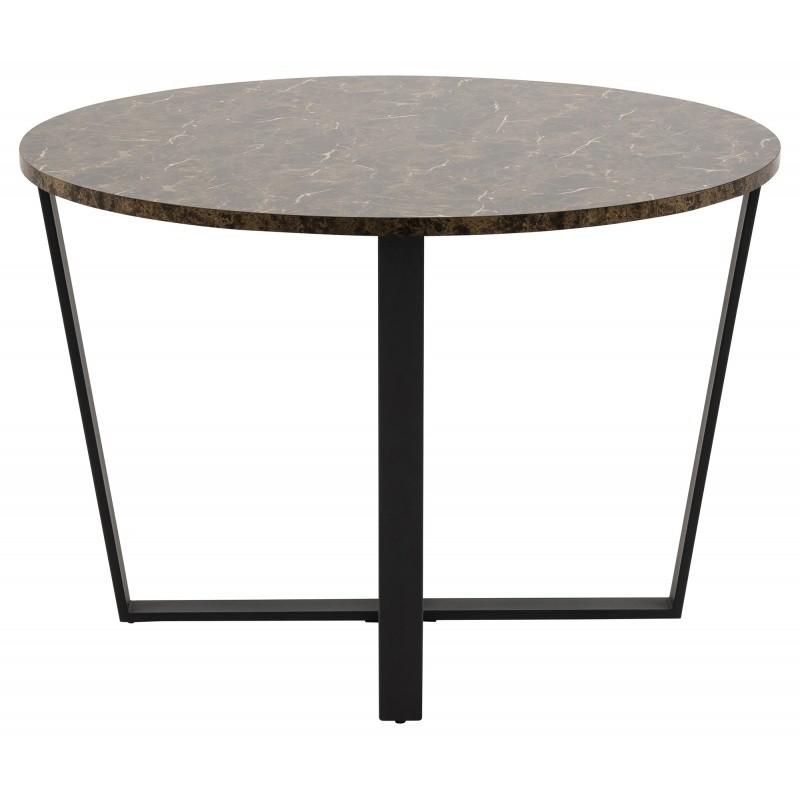 Hector Konferenční stolek Amble 2 mramor hnědý