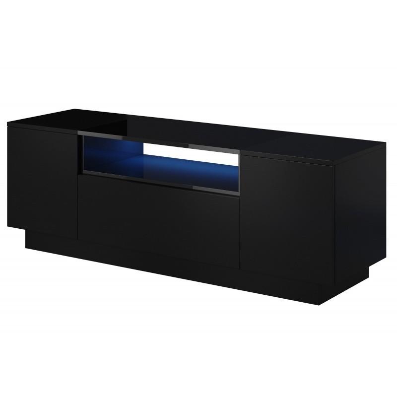 Hector TV stolek Beo RTV 140 cm černý lesk