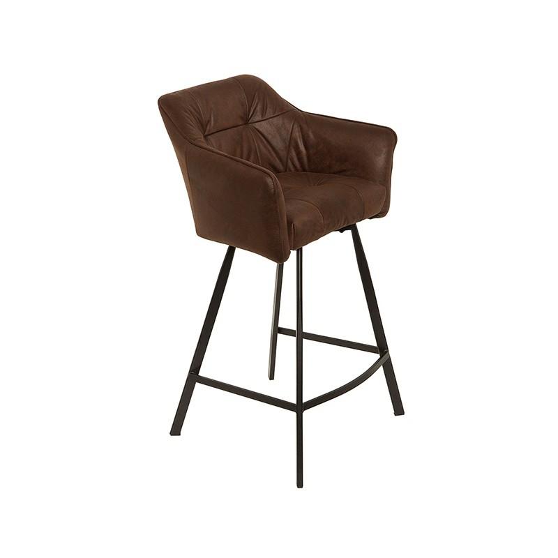 Hector Barová židle Loft hnědá