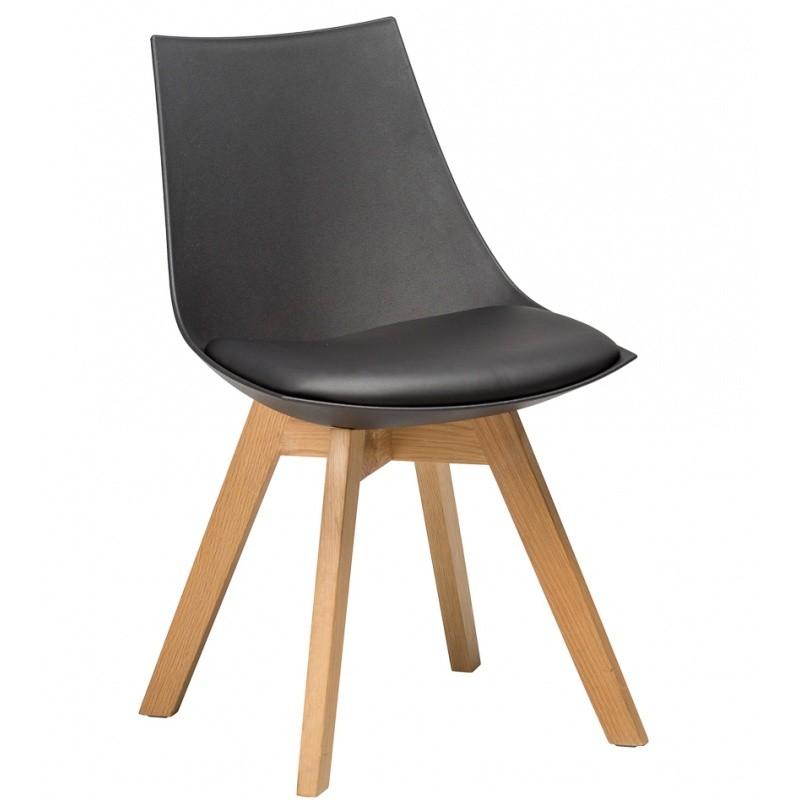 Hector Jídelní židle Fuco černá